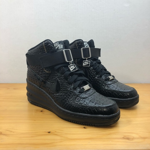 differently a3423 a2582 Nike Air Lunar Force 1 Women s Wedges Black Sz 7.5